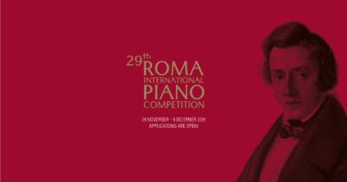 """Aperte le iscrizioni al Concorso """"Roma"""" 2019"""